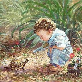 Баринова Жанна Юрьевна.Мальчик и черепаха