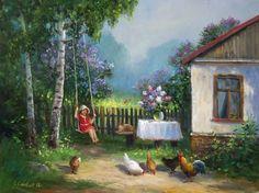 Баринова Жанна Юрьевна.Сиреневый май